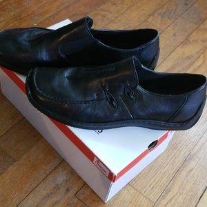 Rieker Antistress Black Slip On Burchs Shoes